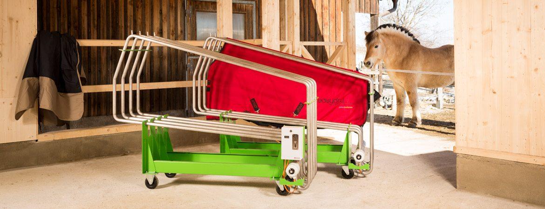 komfortables Trocknen – ganz einfach im Stall